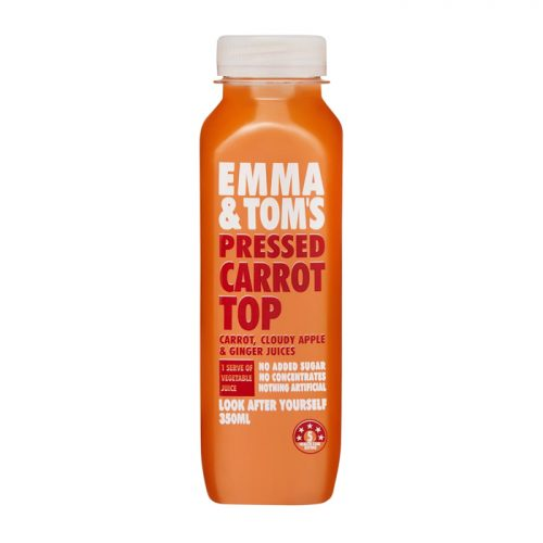 Emma & Toms Pressed Carrot Juice 350ml