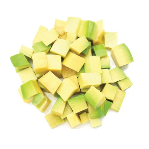 Frozen Avocado Diced 1kg