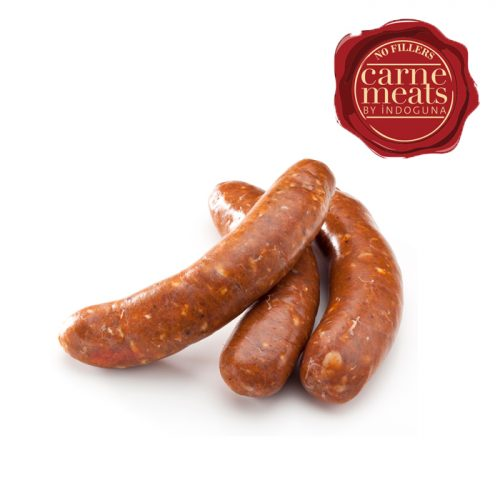 Raw Coarse Lamb Merguez Sausage 45g | 1kg