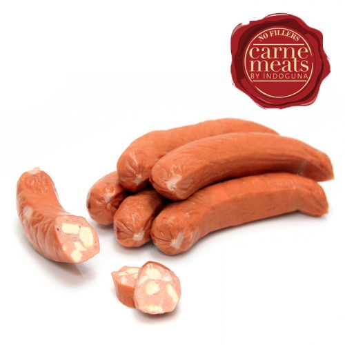 Cooked Smoked Chicken & Cheese Sausage 35g | 1kg