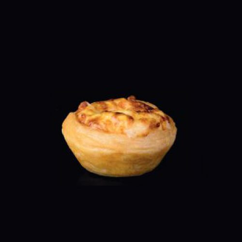Turkey Ham & Cheese Tart 20g | 25pcs