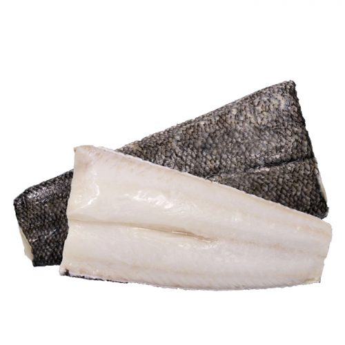 Frozen Chilean Sea Bass Fillet, Skin On | 8kg+-