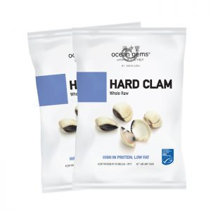 Raw Clams Whole 40/60|10kg|Ctn