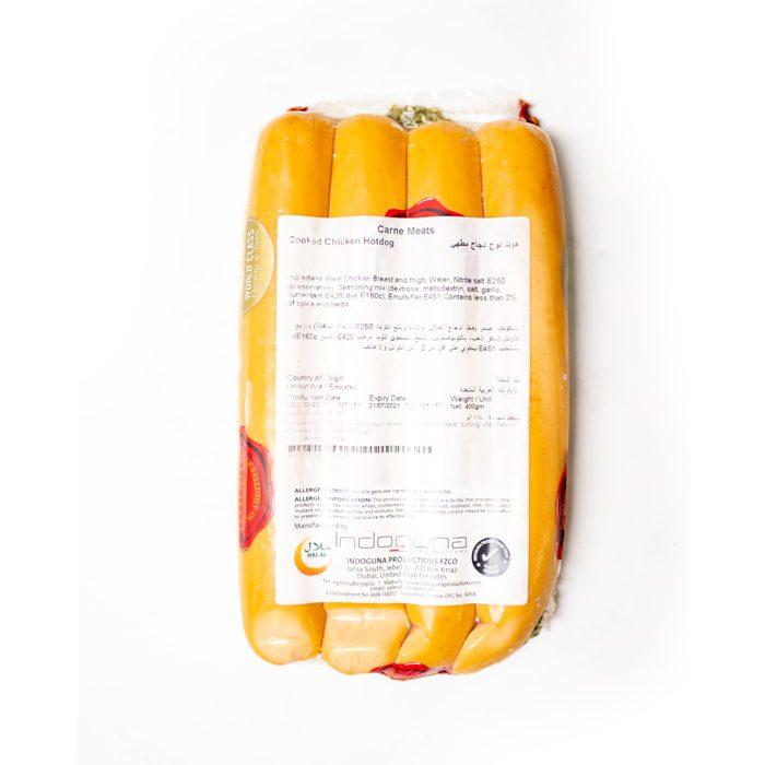 Frozen Cooked Chicken Hotdog 16-17cm | 400GM