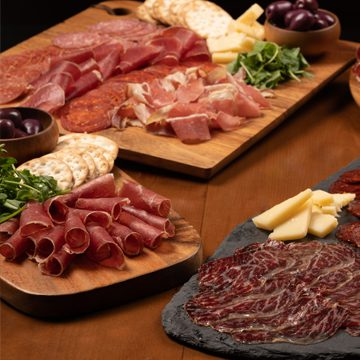 CURED MEATS & CHEESE PLATTERS
