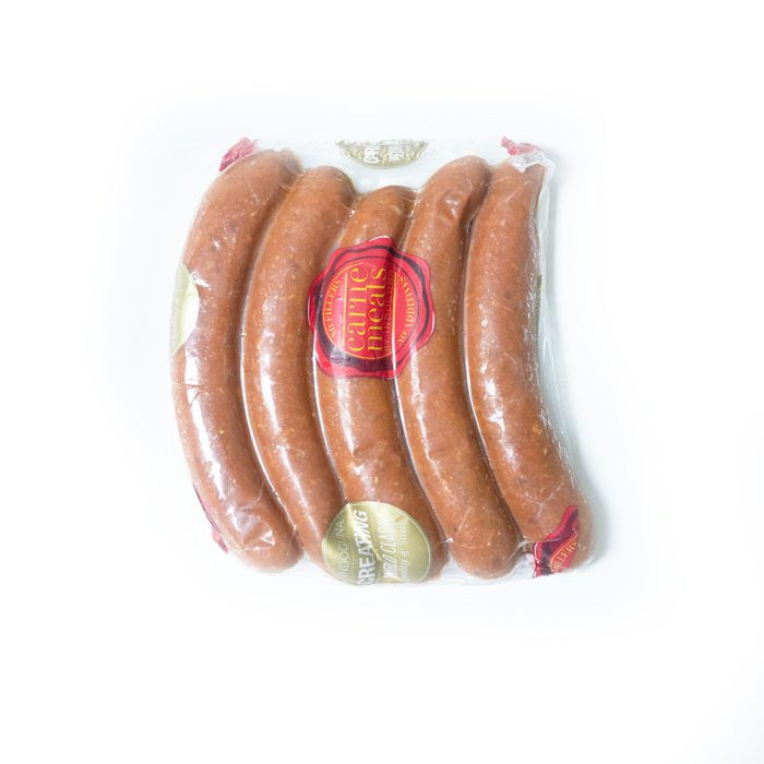 Frozen Raw Lamb Merguez 250gm