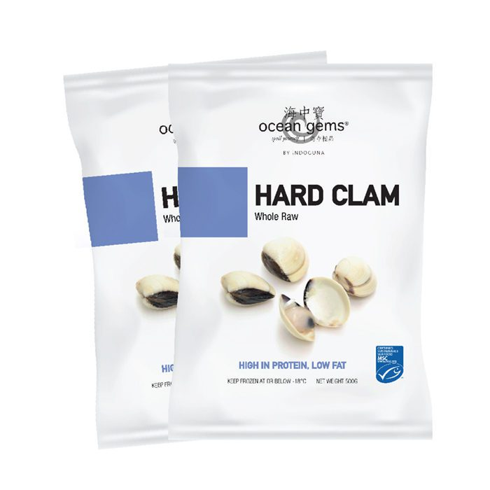 Raw Clams Whole 40/60 | 1kg