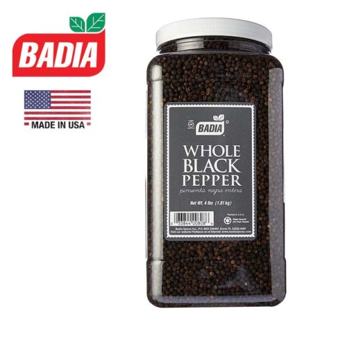 Whole Black Pepper 1.81kg